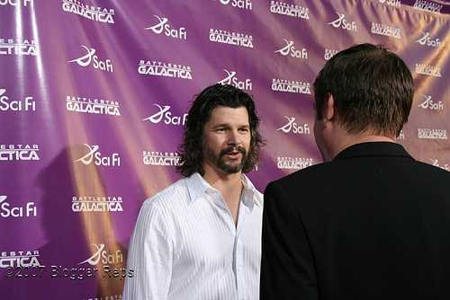 Ronald D Moore at LA Event