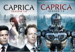 Caprica Season 1.0 and 1.5 Covers